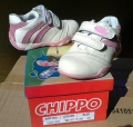 122182-1 Shoes-CHIPPO №25-30-white/pink