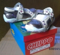121152-1 Shoes-CHIPPO №25-30-bronze/white