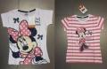 25037 Детски тениски Дисни с къс ръкав за момиче