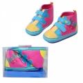 30166-1 Бебешки пантофи-BOX #18-21-синжълт