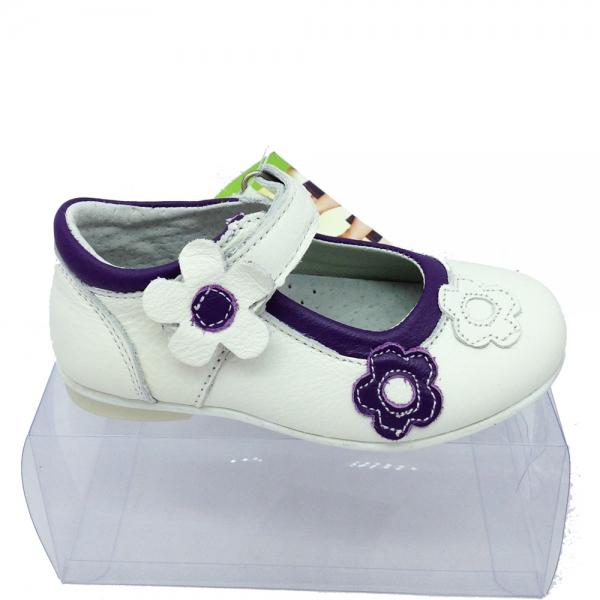 47130-1 Обувка CHIPPO-47130-бял-#25-30