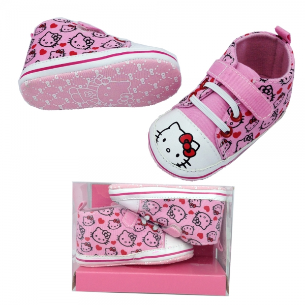 30162 Baby indoor shoes Hello Kitty Box-#18-21