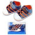 30110-2 Baby shoes Jeans #17-20-D.blue