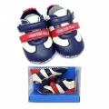 30163-2 Baby indoor shoes BOX-18-21-d.blue