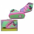 30166-2 Baby shoes #18-21-violetpink