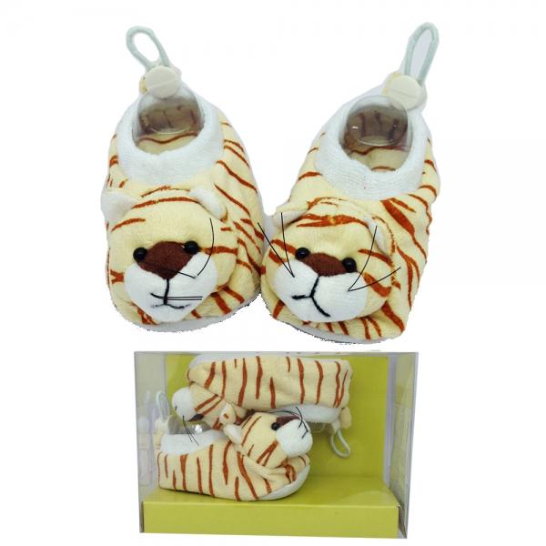 30167-1 BebePantof Plush Animals--тигър