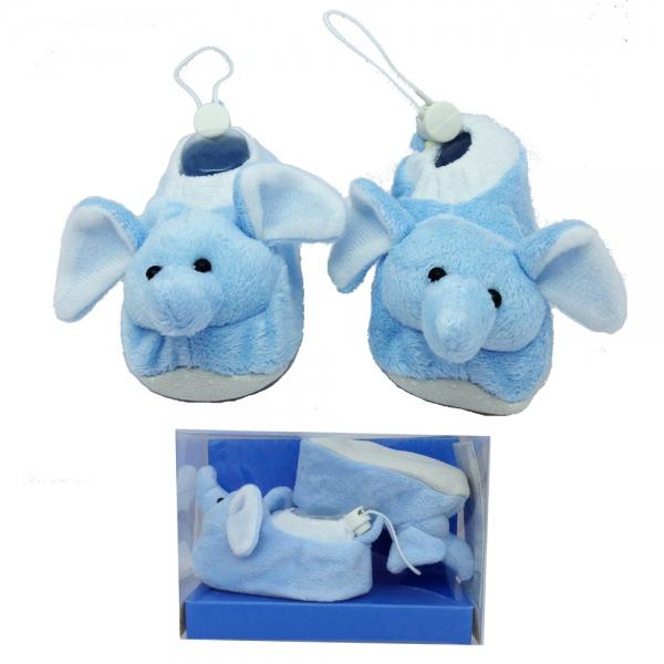 30167-3 BebePantof Plush Animals--слон