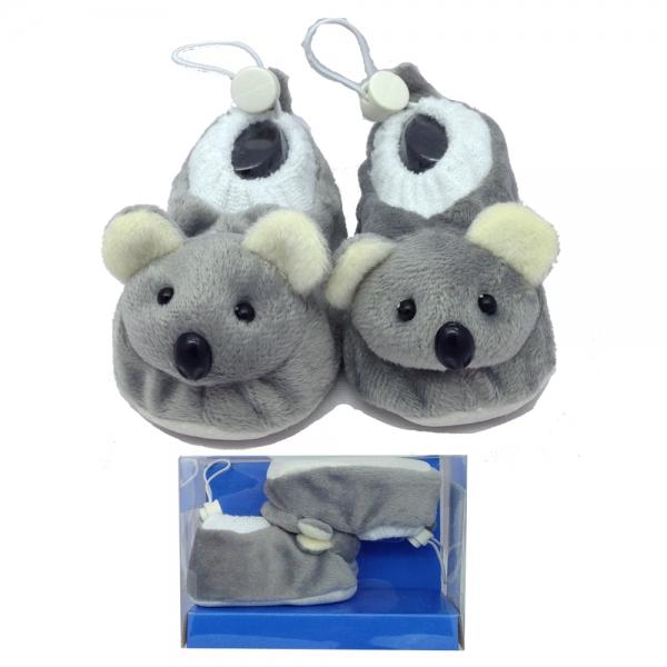 30167-4 BebePantof Plush Animals--мишка