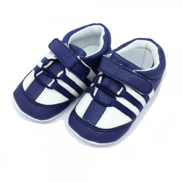 30107 Baby indoor shoes-3Stripes-#17-20