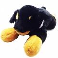 009-550 Плюшена куче 55см пее 1 БГ песен-черно