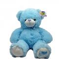 6495-400 Плюшена играчка Синьо Мече пее 1 български песен, 40см