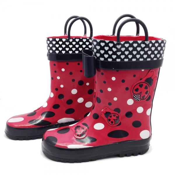 53231 Rainboots 22-30-ladybug