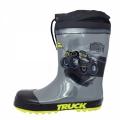53-240 Rainboots-MonsterTruck-28-35-Grey