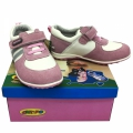 612728-2 Children's leather shoes 25-30-white/pink