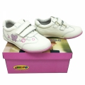 612706 Children's leather shoes 25-30 white