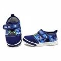 612027-1 Bebe canvas shoes-16-20-blue