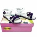 62006 Сандал-CHIPPO-#31-36 Бял/Виолет