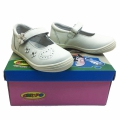 Children leather shoes 712797-1-25-30-white.