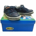 Children leather shoes 712860-1-25-30-blue