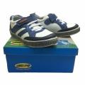 Кожени Обувки-712860-2-№25-30-бял/син.