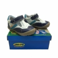 Baby leather shoes 126011-19-24-bluewhite