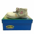 Baby leather shoes 12671-19-24 beige - Image 1