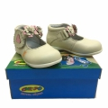 Baby leather shoes 12671-19-24 beige