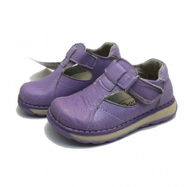 Детски Обувки-259-23-28-№23-28 лилав