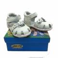 Children leather sandal 723860-1-20-24 White