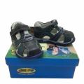 Кожени сандали-723821-1 №20-24 син/зелен