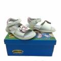 Кожени сандали-723811 №25-30 бял