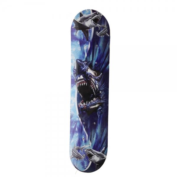 172406-1  Скейтборд Дърво Клен Shark 60cm
