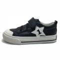 71264-1 Eco leather Sneaker star 25-30-black