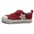 71264-2 Eco leather Sneaker star 25-30-red