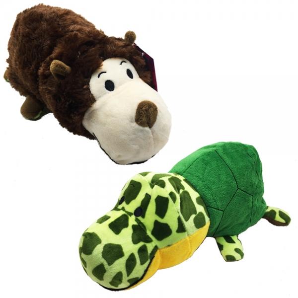 87571 Flipazoo - Плюш 2в1 - Маймуна  на костенурка- 30см