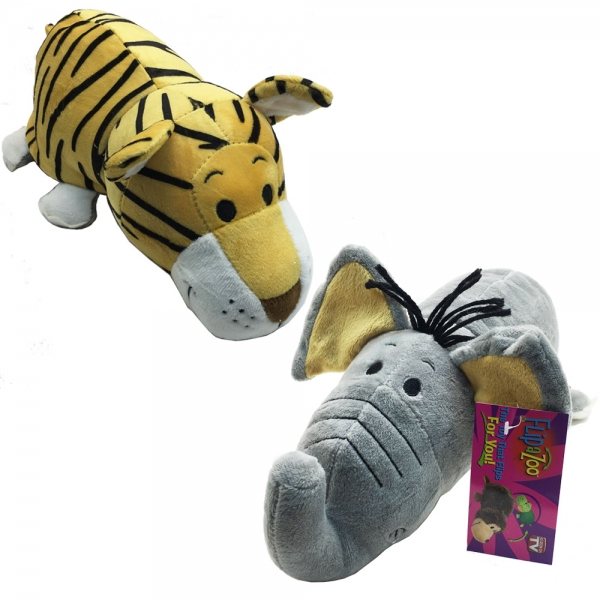 87572 Flipazoo - Плюш 2в1 - Тигър на Слон - 30см