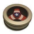 175070-3 Метален Спинър Герои- Captain America