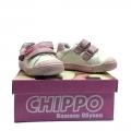 812950-2 Детски Кожени Обувки Wh/Pink №20-24