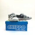 812927-2 Children Leather shoes 25-30, grey