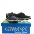 812922-1 Детски Кожени Обувки Black №31-36