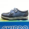 812922-3 Children Leather shoes 31-36, blue - Image 1