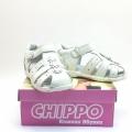 823869-1 Children leather sandal 20-24 white