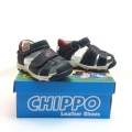 823887-1 Children leather sandal 20-24 blue