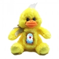 18025-4 Plush Duck with glowing baby