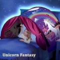 204241-3 Dream Tent with reading lamp, Unicorn