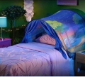 204241-4 Dream Tent with reading lamp, Magical Forest