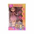 276078-1 Boxy Girls Кукли + 4 пакета с изнедади  Оранжева рокля