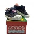 912939-2 Детски Кожени Обувки Navy/pink №21-25