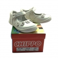 912931 Children Leather shoes white №21-25