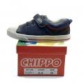 912379-1 Детски Кожени Обувки Blue №25-30 - Image 1